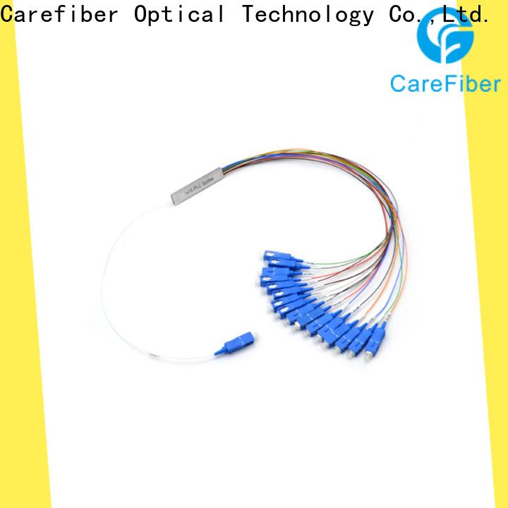 Carefiber 1x2 optical splitter best buy cooperation for industry