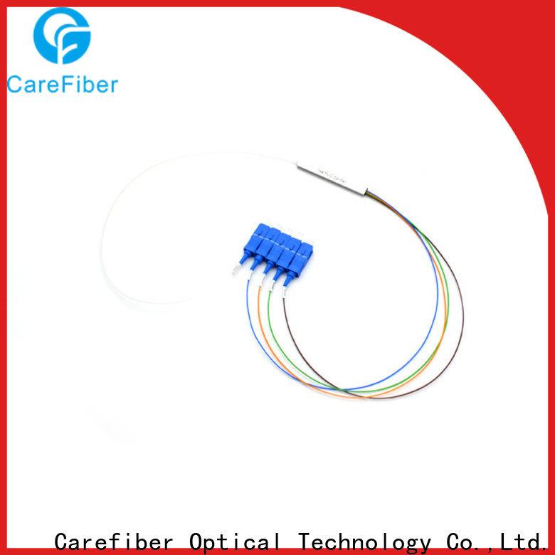 Carefiber 1x64 fiber optic splitter types cooperation for industry