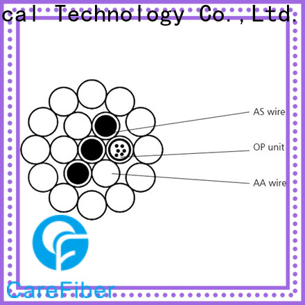 Carefiber opgw opgw cable manufacturer for electric lines