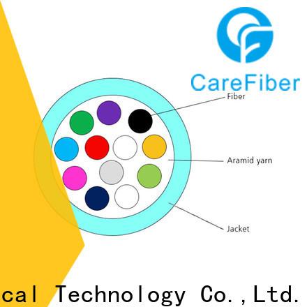 Carefiber gjfv fiber optic 4 core well know enterprises for indoor environment