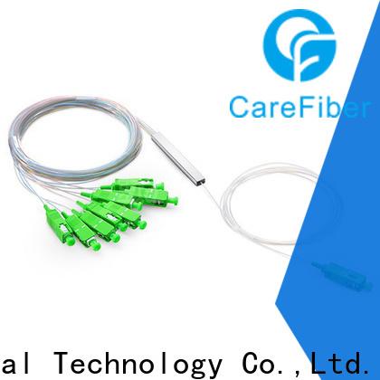 Carefiber best plc optical splitter foreign trade for industry