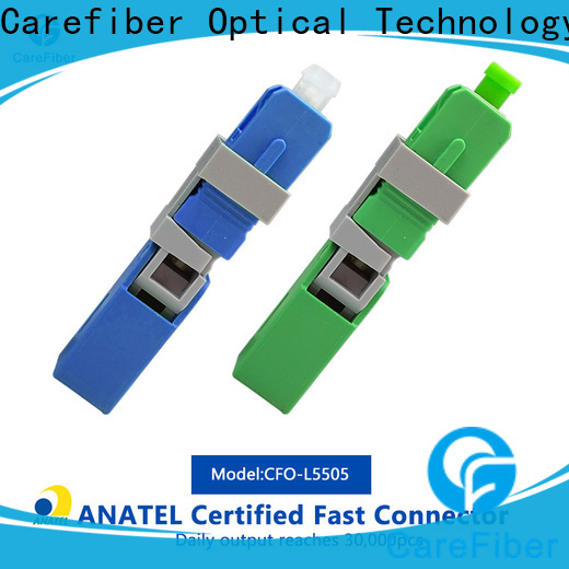 Carefiber dependable optical connector types trader for distribution