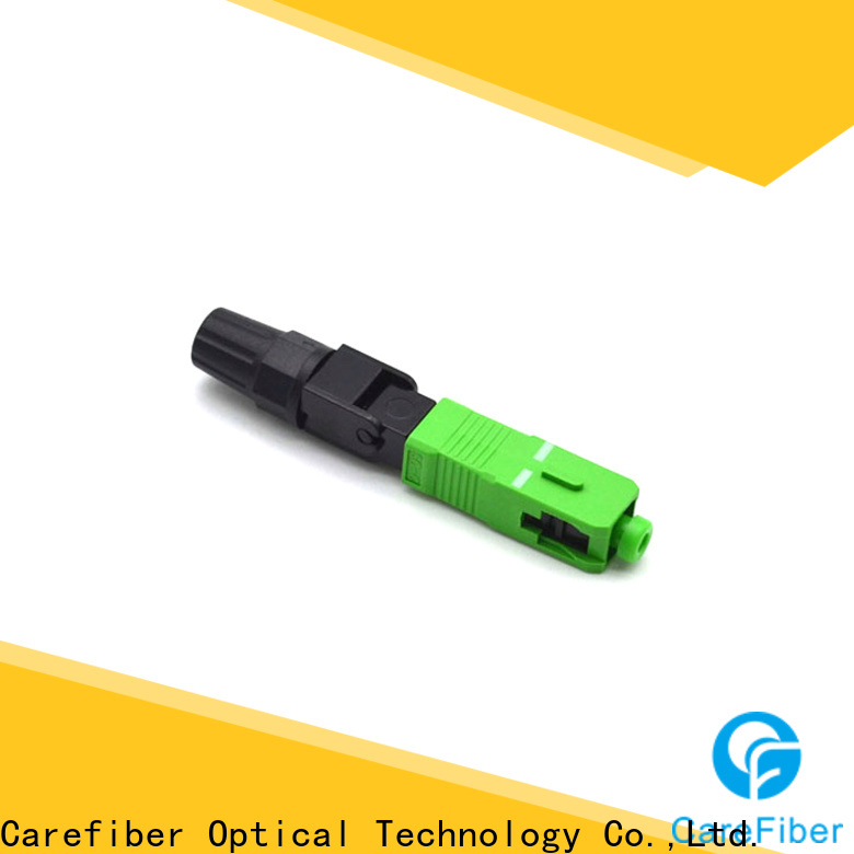 Carefiber new fiber fast connector provider for communication