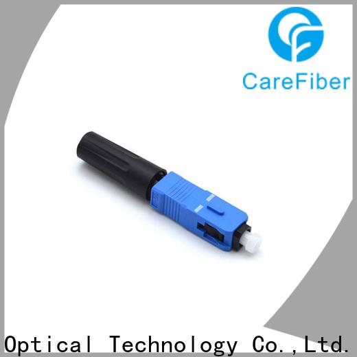 Carefiber best fiber optic fast connector trader for consumer elctronics