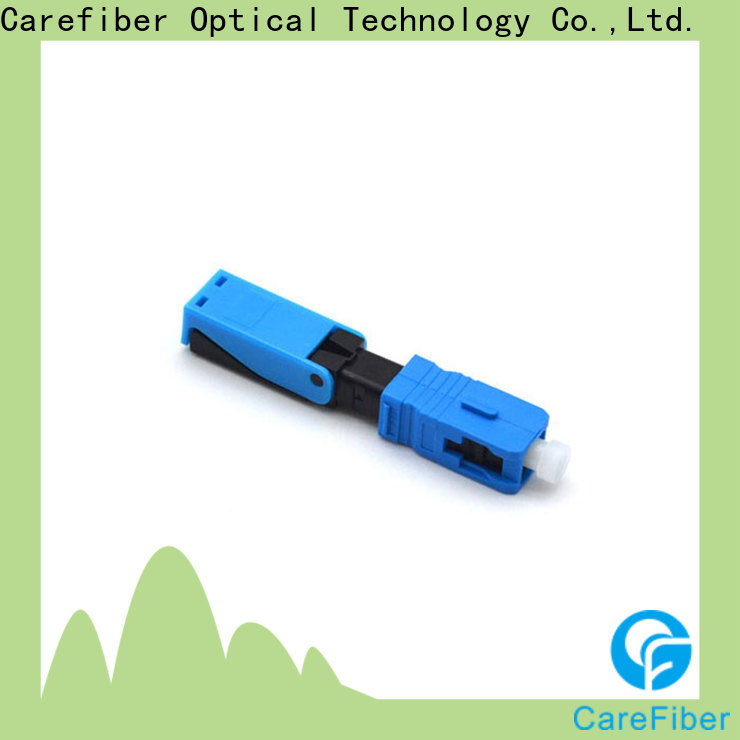 Carefiber cfoscupc6001 optical connector types factory for distribution