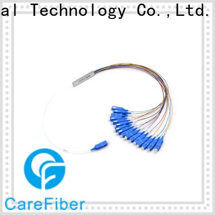 Carefiber best plc fiber splitter foreign trade for global market