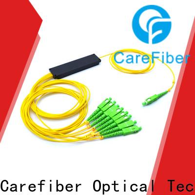 Carefiber most popular splitter plc foreign trade for communication