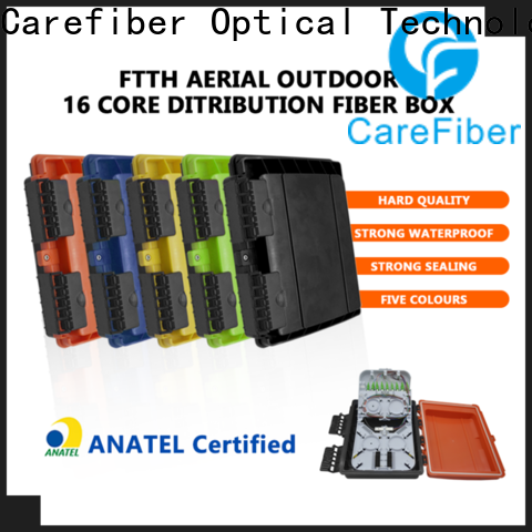 Carefiber 16cores fiber optic box from China for transmission industry