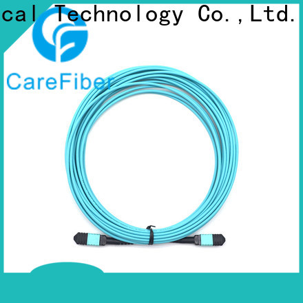 Carefiber most popular fiber patch cord types foreign trade for connections