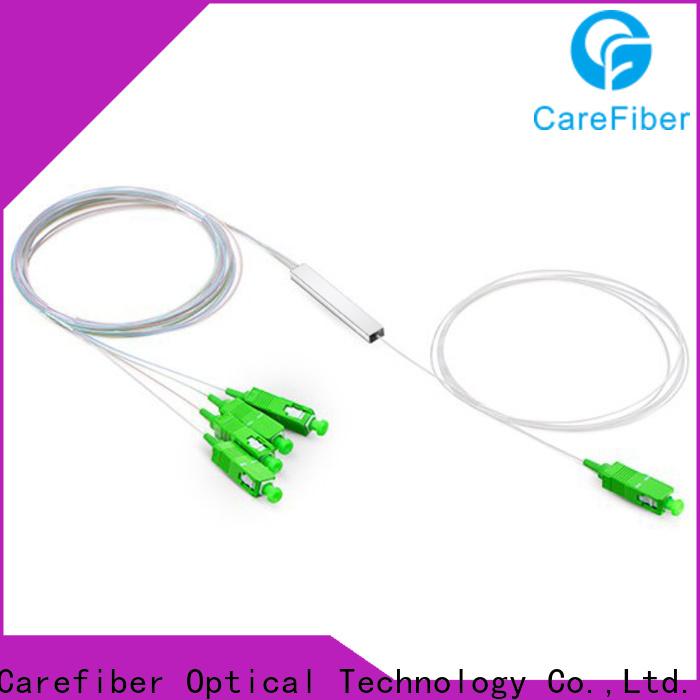 Carefiber best fiber splitter trader for industry