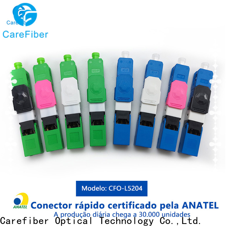 Carefiber cfoscupcl5301 lc fast connector provider for communication
