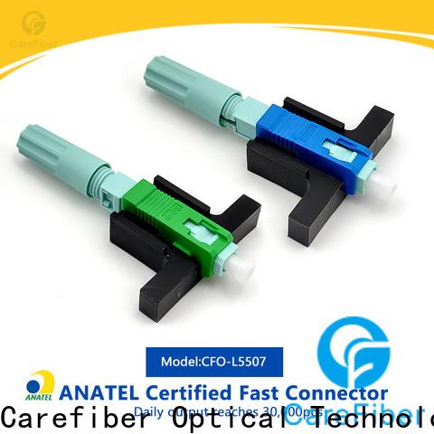 Carefiber best lc fiber connector provider for distribution