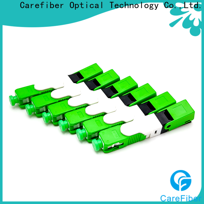 Carefiber new fiber optic cable connector types factory for distribution
