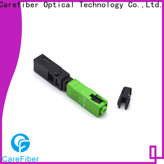 Carefiber dependable optical connector types provider for distribution