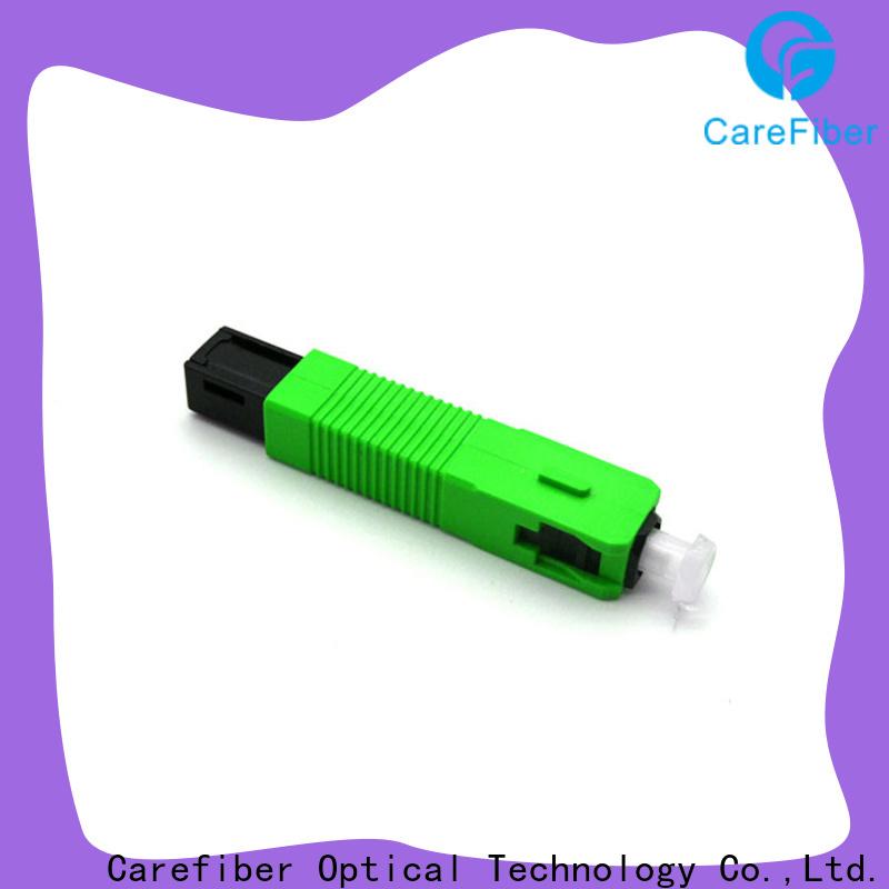 Carefiber cfoscupc6001 sc fiber optic connector provider for communication