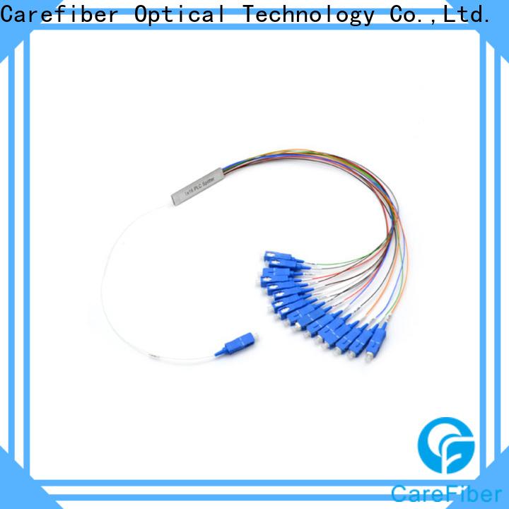 Carefiber 1x2 plc fiber splitter cooperation for communication
