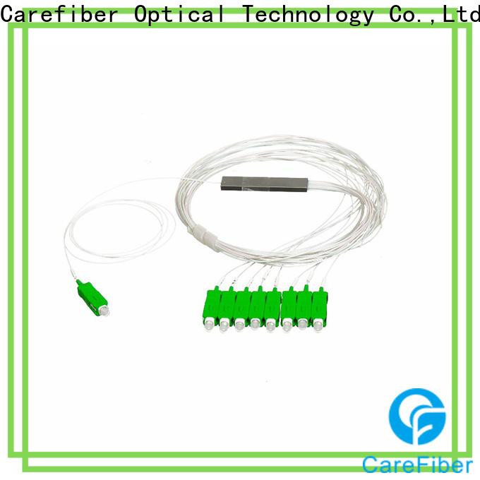 Carefiber optical fiber splitter cooperation for global market