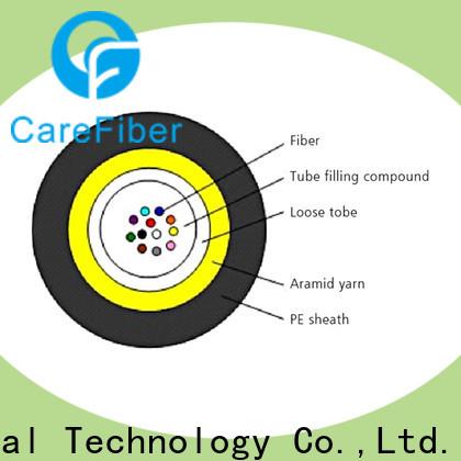 Carefiber standard single mode fiber cable great deal for overseas market