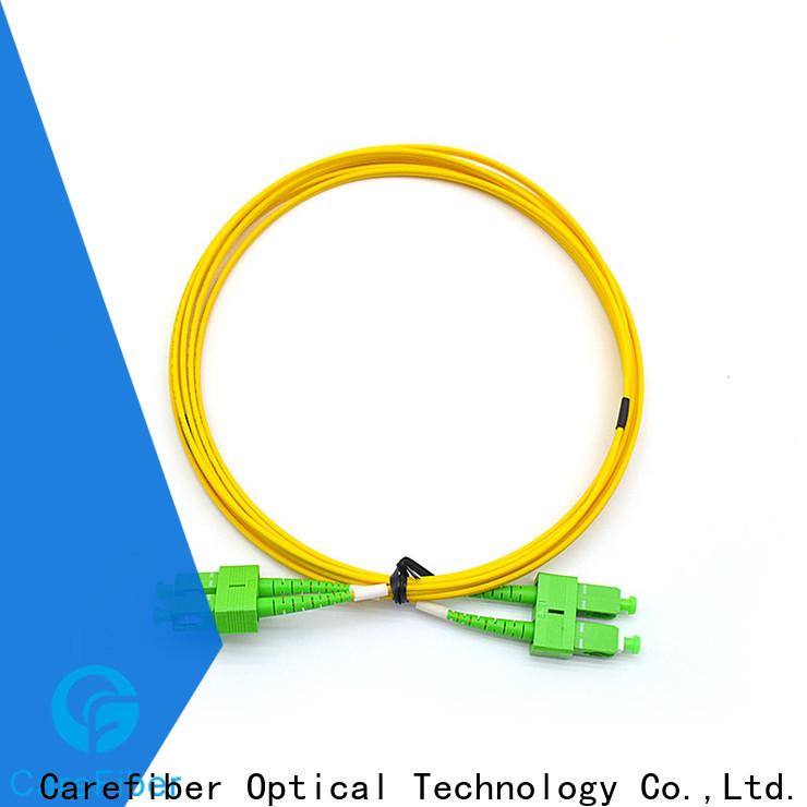 Carefiber cords patch cord fibra optica manufacturer