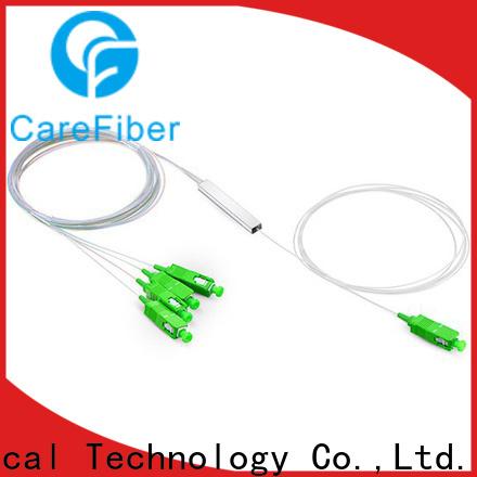 Carefiber best fiber splitter cooperation for communication
