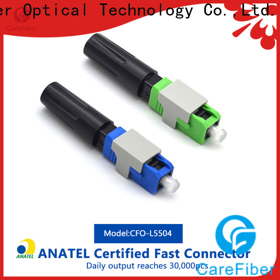 Carefiber new fiber optic fast connector factory for communication