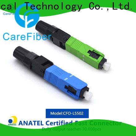 Carefiber cfoscapcl5502 lc fiber connector provider for communication
