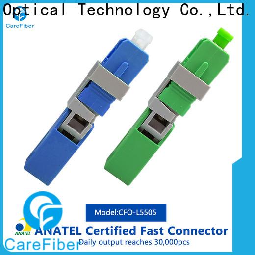 Carefiber dependable sc fiber optic connector trader for communication