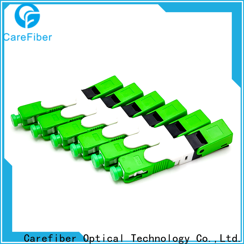 Carefiber best fiber fast connector factory for distribution