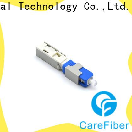 Carefiber dependable fiber fast connector factory for distribution