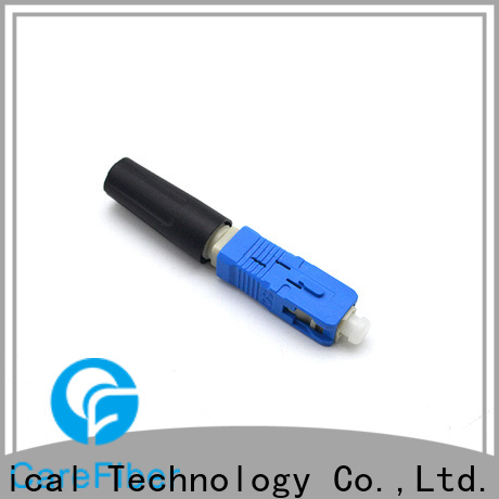 Carefiber best fiber optic cable connector types factory for distribution
