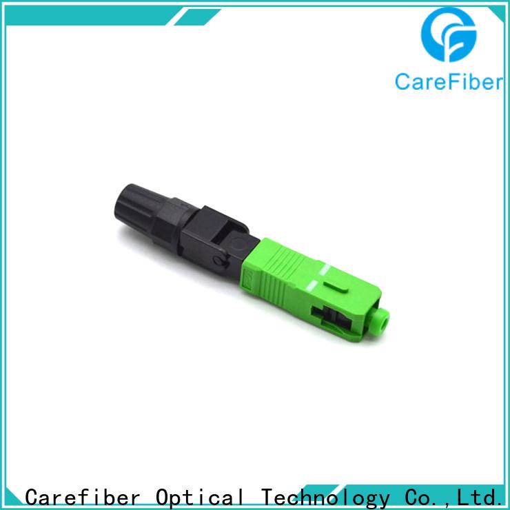Carefiber dependable sc fiber optic connector factory for distribution