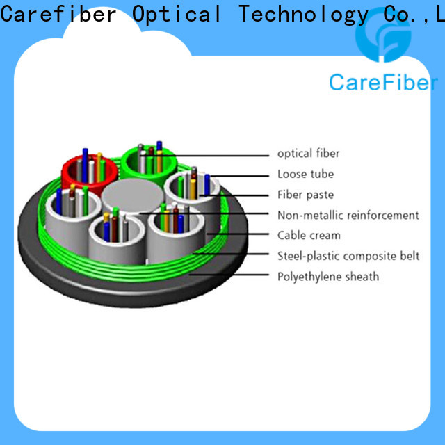 Carefiber commercial outdoor multimode fiber optic cable wholesale for trader