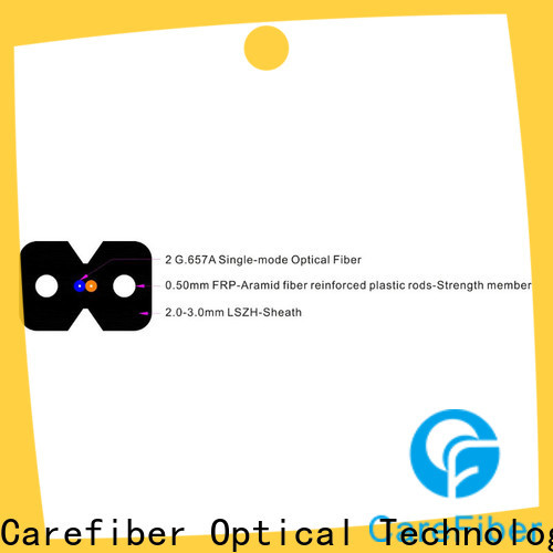 Carefiber variety of aerial drop cable supplier for communication