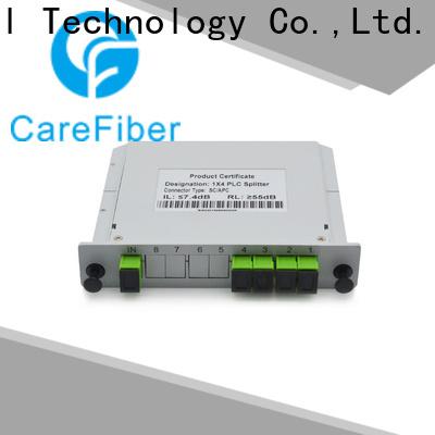 Carefiber most popular optical splitter best buy foreign trade for industry