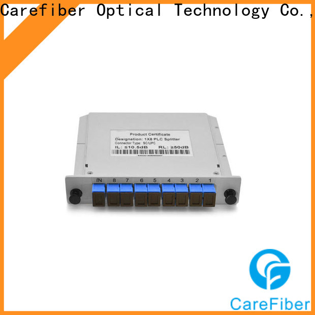 Carefiber best optical cable splitter best buy foreign trade for industry