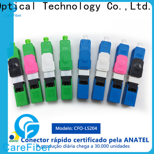 best sc fiber optic connector carefiber provider for consumer elctronics