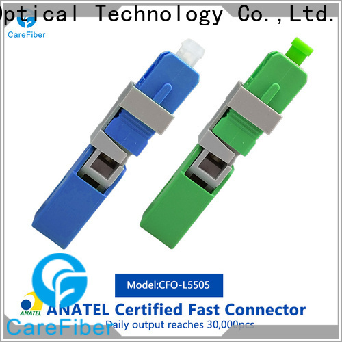 Carefiber new fiber optic fast connector provider for communication