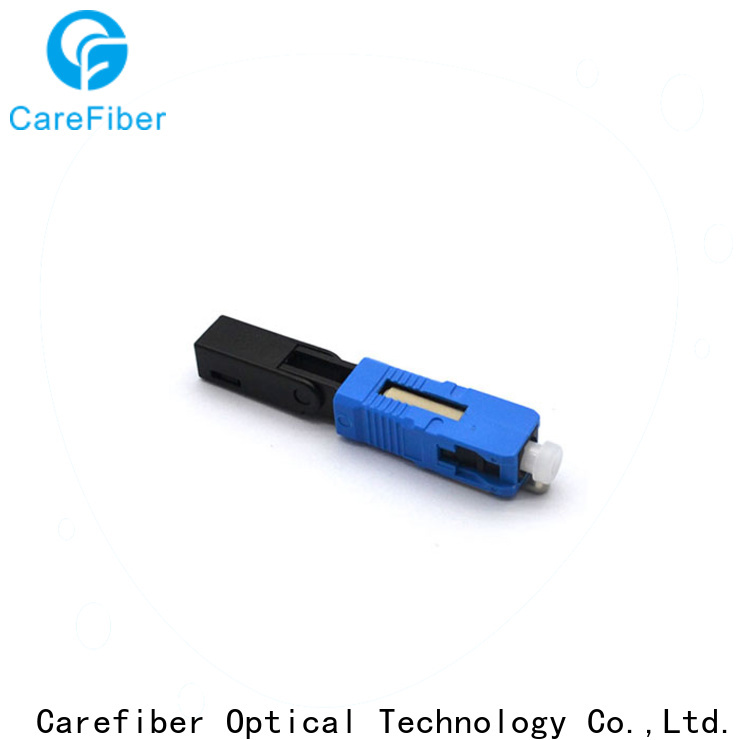 Carefiber new lc fiber connector factory for consumer elctronics