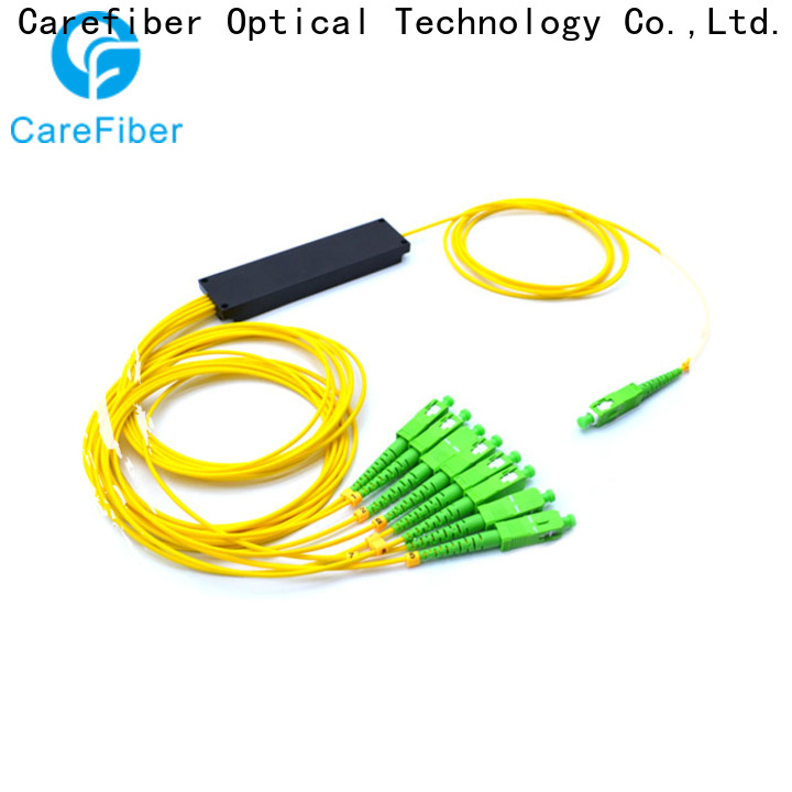 Carefiber quality assurance plc optical splitter trader for industry